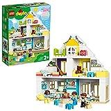 Lego 10929 DUPLO Unser Wohnhaus 3-in-1 Set, Puppenhaus für Mädchen und Jungen ab 2 Jahren mit...