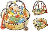 Infantino Grow-with-Me Krabbeldecke und Bällebad, Bällebad mit 20 Bällen, Spieldecke, mehrfarbig