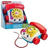 Fisher-Price FGW66 Plappertelefon Motorikspielzeug mit Geräuschen, ab 12 Monaten