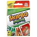 Mattel Games T1882 Skip-Bo Junior Kartenspiel für Kinder, geeignet für 2 - 4 Spieler, Spieldauer...