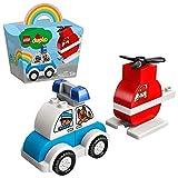 LEGO 10957 DUPLO Mein erster Feuerwehrhubschrauber und mein erstes Polizeiauto für 1,5-jährige...