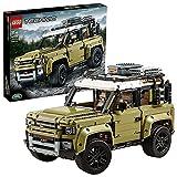 LEGO 42110 Technic Land Rover Defender, 4x4 Geländewagen, Exklusives Sammlerstück, Bauset für...