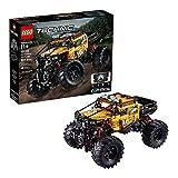 LEGO 42099 Technic Control+ 4x4 Allrad Xtreme-Geländewagen, App-gesteuertes Konstruktionsspielzeug...