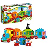 LEGO 10847 DUPLO Zahlenzug, preisgekröntes Bauset mit großen Zahlensteinen, Vorschulspielzeug,...