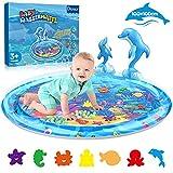 Dusor Wassermatte Baby Spielzeug 3 6 9 Monate, Wasserspielzeug Aufblasbares Wassermatte für Kinder,...
