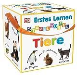 Erstes Lernen Stapelwürfel. Tiere: 10 stabile Karton-Würfel ab 1 Jahr mit tollen Fotos zum...