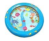 Musik für Kleine Meerestrommel Musikspielzeug für Kleinkinder und Babys ab 1 Jahr - 18 cm...