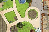 Bauernhof Spielmatte (ähnlich Spielteppich) | Hochwertige Reiterhof Spiel-Matte für das...