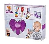 Eichhorn 100017045 - Baby Starter/Geschenke Set mit Maraca, Greifling mit Sound und Greifling mit...