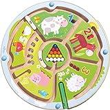 HABA 301473 - Magnetspiel Zahlenlabyrinth |Wunderschön illustriertes Baby- und Kleinkindspielzeug...