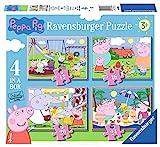 Ravensburger Peppa Wutz Puzzle für Kinder ab 3 Jahren, 10,2 cm (12, 16, 20, 24 Teile)