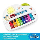 Fisher-Price GFK01 - Babys erstes Keyboard, Piano Lernspielzeug mit Liedern, Geräuschen und Sätzen...