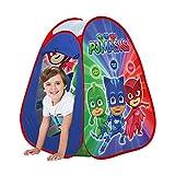 John 77244 77244-Pop Up PJ Masks-Kinderzelt, Wurfzelt, Spielhaus mit gedrucktem Motiv für Kinder,...