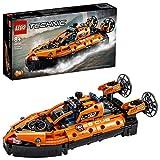 LEGO 42120 Technic Luftkissenboot für Rettungseinsätze, 2-in-1 Modell, Bauset für Jungen und...