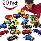EUTOYZ Geschenke für Jungen ab 2-6 Jahre Junge Spielzeug, Spielzeugautos ab 2-6 Jahren...