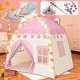 Labeol Kinderspielzelt für Mädchen Prinzessin Spielzelt Kinderzimmer für Drinnen Outdoor...