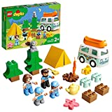 LEGO 10946 DUPLO Familienabenteuer mit Campingbus, Wohnmobil Spielzeugauto, Lernspielzeug ab 2...