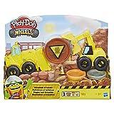 Play-Doh Hasbro Wheels E4294EU4 - Bagger und Schaufler Knete, für fantasievolles und kreatives...
