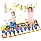 TENOL Klaviermatte für Kinder Spielzeug ab 1 2 3 4 Jahre Mädchen Geburtstags Geschenke für Jungen...