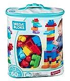 Mega Bloks DCH55 - Bausteinebeutel Medium mit 60 Bausteine, grundfarben