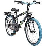 BIKESTAR Kinderfahrrad 20 Zoll für Jungen ab 6-7 Jahre   20er Kinderrad Modern   Fahrrad für...