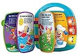 Fisher-Price CDH40 - Lernspaß Liederbuch Baby Spielzeug zum Lernen von Buchstaben, Zahlen und...
