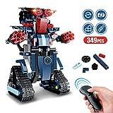Baustein Roboter Spielzeug Kinder, STEM Roboterbausatz 349-tlg Blöcke Bauklötze Ferngesteuerter...
