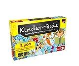 Noris 606013595 Kinder-Quiz, der Familen-Spielspaß für Zuhause oder unterwegs, für 1-6 Spieler ab...