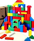 Jaques Von London - Holzbausteine für Kinder perfekt Babyspielzeug ab 1 Jahr geeignet Holzspielzeug...