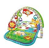 Fisher-PriceGXC36 - Rainforest-Freunde 3-in-1 Spieldecke, tragbare Baby Krabbeldecke inkl....