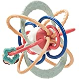 CubicFun Baby Rassel und Sensorische Beißring Ball für ab 0 3 6 Monate Beißringspielzeug für...