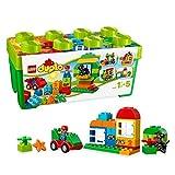 LEGO 10572 DUPLO Große Steinebox, Bauset mit Aufbewahrungsbox für Vorschulkinder, Spielzeuge für...