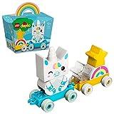 LEGO 10953 DUPLO Mein erstes Einhorn Spielzeugzug für 1,5-jährige Jungen & Mädchen, Mein Erstes...