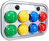 Simba 107401391 - Boccia Spiel Tragekorb, 8 Kugeln, 7x8cm, 2 Zielkugeln