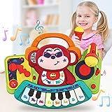 VATOS Baby Klavier Musikspielzeug,Affen Klavier Musikinstrument,Aktivität Lernen und Entwicklung...