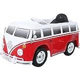 Rollplay 29212 Elektrofahrzeug, VW Bus T1 (Typ 2), Rot