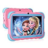 Kinder Tablet, Android 9.0 Lerntablet für Kids, 2 GB + 16 GB, 7-Zoll-HD IPS Touchscreen, WLAN...