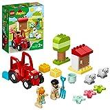 LEGO 10950 DUPLO Traktor und Tierpflege Kleinkinder Spielzeug ab 2 Jahren, Bauernhof, Spielset mit...