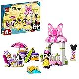 LEGO 10773 Mickey and Friends Minnies Eisdiele, Minnie Mouse Spielzeug zum Bauen für Kinder ab 4...