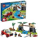 LEGO 60301 City Wildlife Tierrettungs-Geländewagen Spielzeugauto, Spielzeug ab 4 Jahre,...