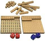 Wissner aktiv lernen 200020.IMP - RE Wood Mathespiel Hunderterraum, Lernspiel für Kinder,...
