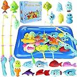 aovowog 48 Stück Baby Angeln Spielzeug ab 1 2 3 Jahre,Badespielzeug Badewannenspielzeug...