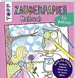Zauberpapier Malbuch für Mädchen: Entdecke magische Muster und versteckte Motive