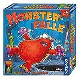 Kosmos 680305 - Monsterfalle, lustiges Kinderspiel ab 6 Jahre, für 2 bis 4 Spieler