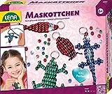 Lena 42688 Bastelset für 4 Maskottchen, Komplettset für 4 Glücksbringer/Schlüsselanhänger mit...