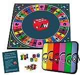 Alleswisser - Das Brettspiel, interaktives Quiz-, Wissens- und Familienspiel mit App für iOS und...