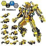 VATOS Roboter Bausteine Spielzeug ab 6 7 8 9 10 Jahren für Jungen, 573 Teile Konstruktionsspielzeug...