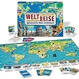 Ravensburger 26888 26332 - Weltreise- Familienklassiker ab 8 Jahren - Gesellschaftspiel, Reise...