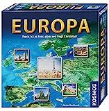 KOSMOS 692636 Europa, Geografie-Spiel, Familienspiel für 2 - 6 Spieler, ab 10 Jahre