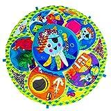 Lamaze Marienkäfer-Spieldecke | Babydecke ab 0 Monaten in ansprechenden Farben mit vielen bunten...